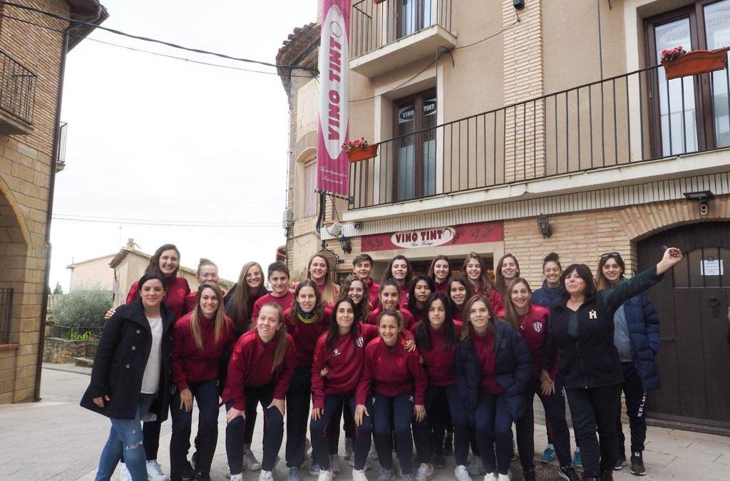 Grupo Vino Tinto Patrocinador de la SD Huesca Femenino