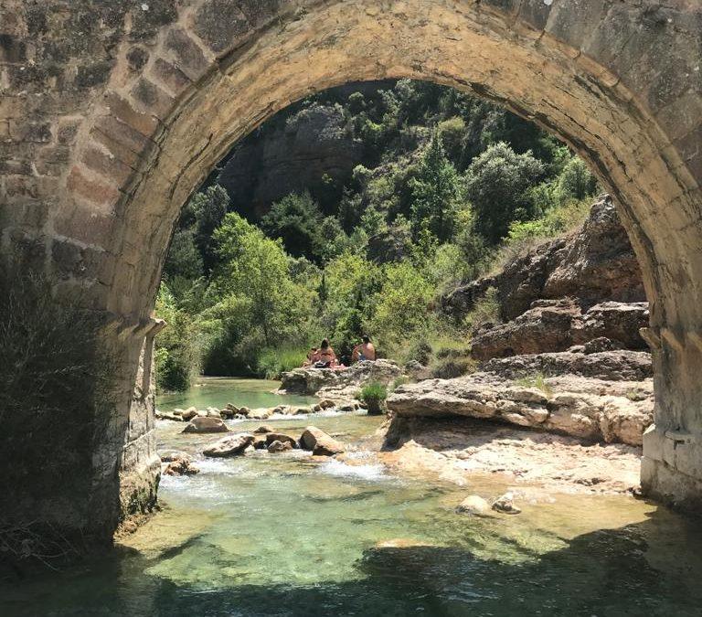 El poder del agua del Río Vero